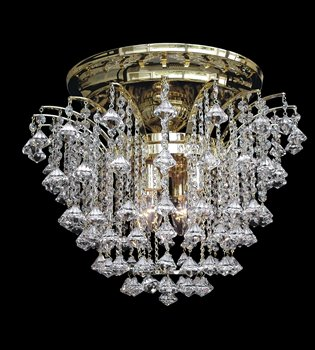 Crystal chandelier 131 400 004