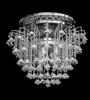 Crystal chandelier 131 401 004