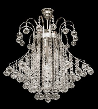 Crystal chandelier 132 001 112