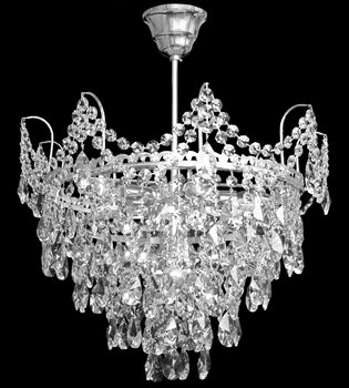 Crystal chandelier 316 001 006