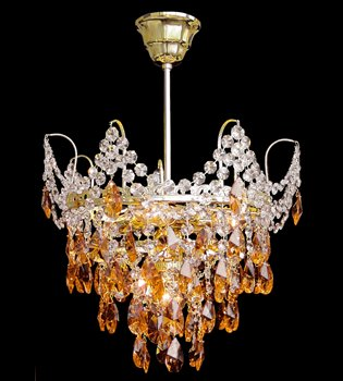 Crystal chandelier 316 090 004