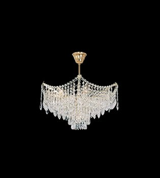 Crystal chandelier 411 000 007