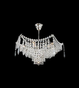 Crystal chandelier 411 000 107