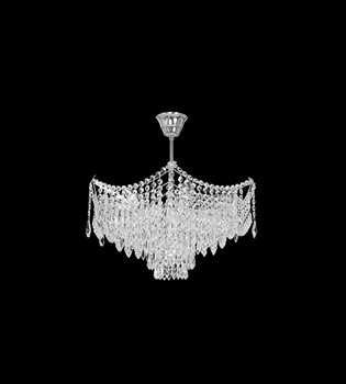 Crystal chandelier 411 001 007