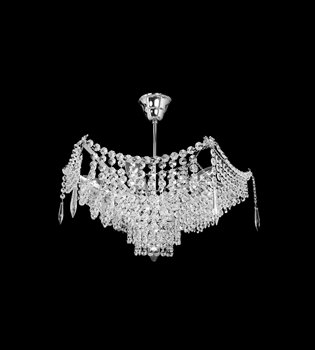 Crystal chandelier 411 001 107