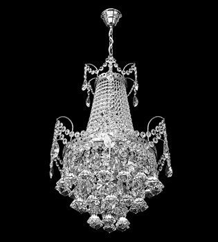 Crystal chandelier 656 001 006