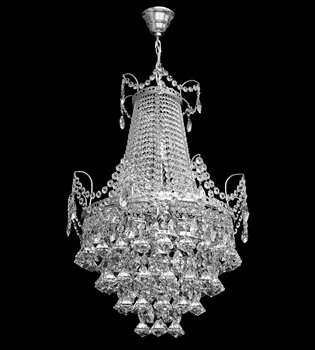 Crystal chandelier 656 001 008